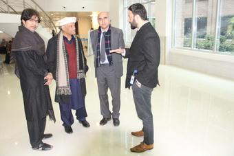 Mr. Anwar Masood, Pakistan's renowned poet,  visited Mukhtar A. Sheikh Hospital