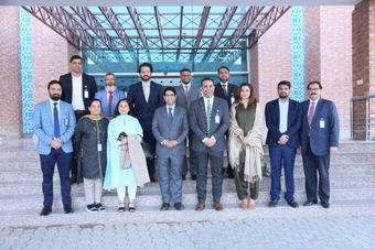 A delegation from Aga Khan University Hospital visited Mukhtar A. Sheikh Hospital.