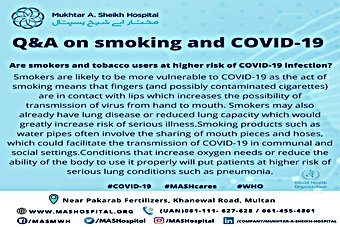 Frequently asked questions and answers regarding Covid-19, to create awareness and to eliminate misconceptions.
