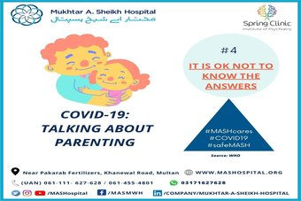 COVID-19: Talking about Parenting