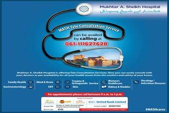 MASH Teleconsultation Service
